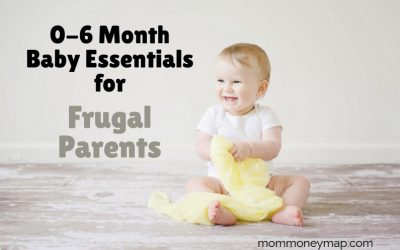 0-6 Month Baby Essentials for Frugal Parents