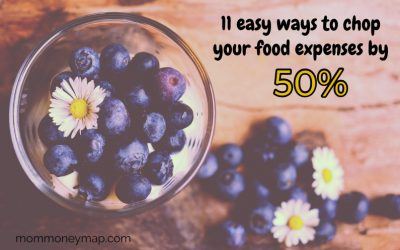 11 easy ways to chop your food expenses by 50%!