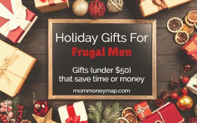 Holiday Gifts for Frugal Men: Gifts (under $50) that save time or money