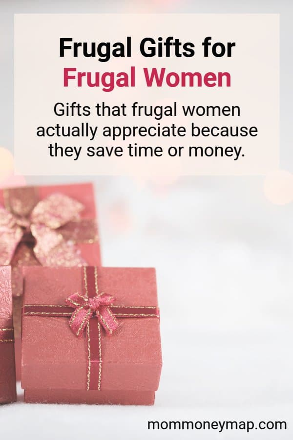 Frugal Holiday Gifts (under $50) for Frugal Women