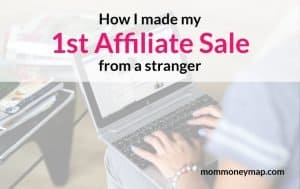 How I made my first affiliate sale from a stranger blog feature