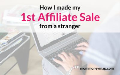 How I made my first affiliate sale from a stranger