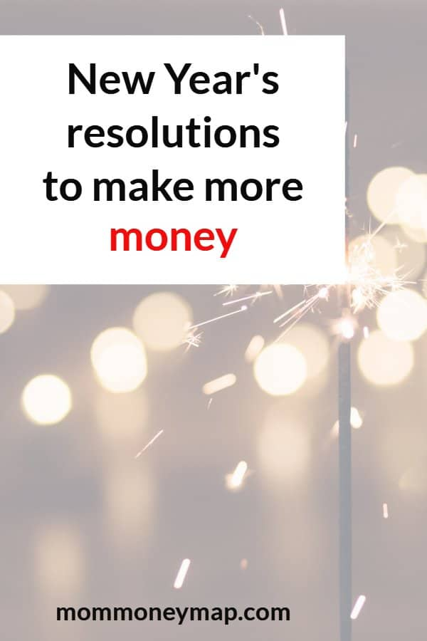 New Year's Resolutions to make more money