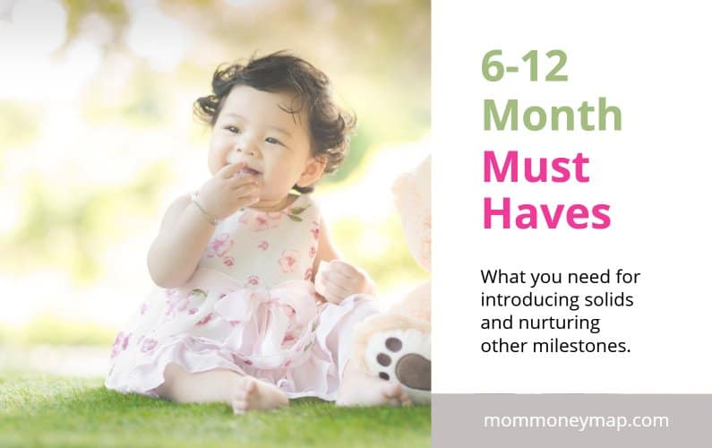 6-12 Month Must Haves for Introducing Solids and Nurturing Development