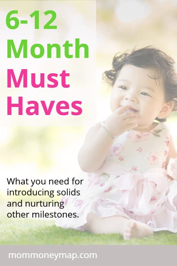 6-12 Month Must Haves