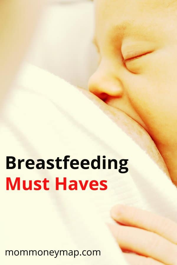 Breastfeeding Must Haves - what I used for breastfeeding assistance