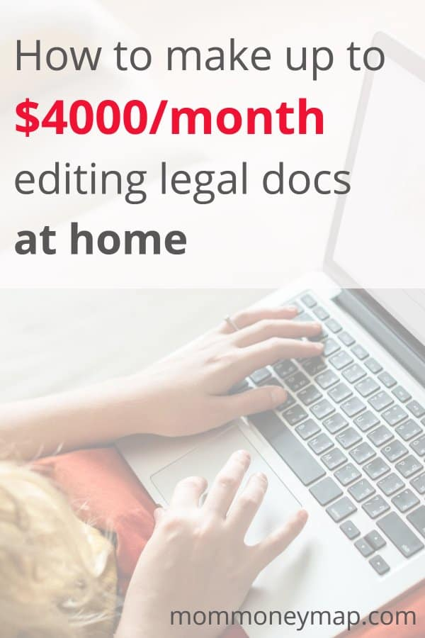 How to Make up to $4000/month editing Legal Documents at Home
