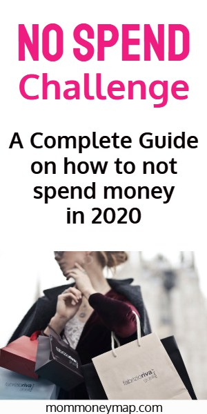 How to do a No Spend Challenge: The Complete Guide on How to Not Spend Money