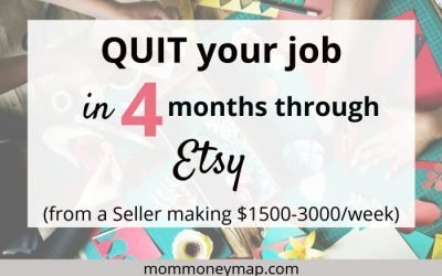 Quit your Job in 4 months through Etsy – from an Etsy Seller earning $1500-3000/week (2019)
