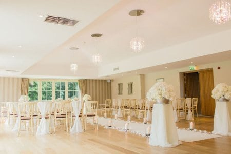 Save money for a wedding venue