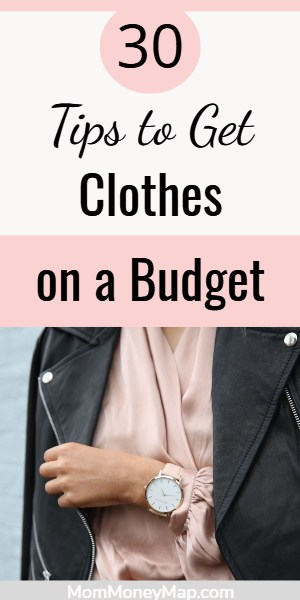 Best way to shop for clothes on a budget