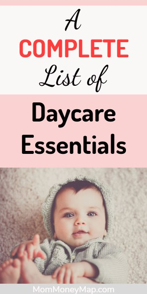 Daycare supply list