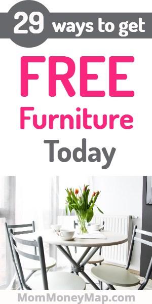 Where to get free furniture near me