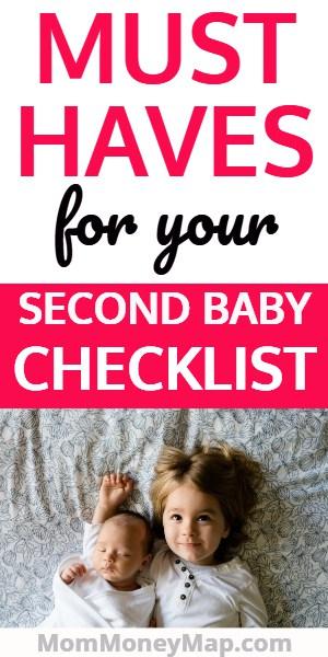 Checklist to prepare for second baby